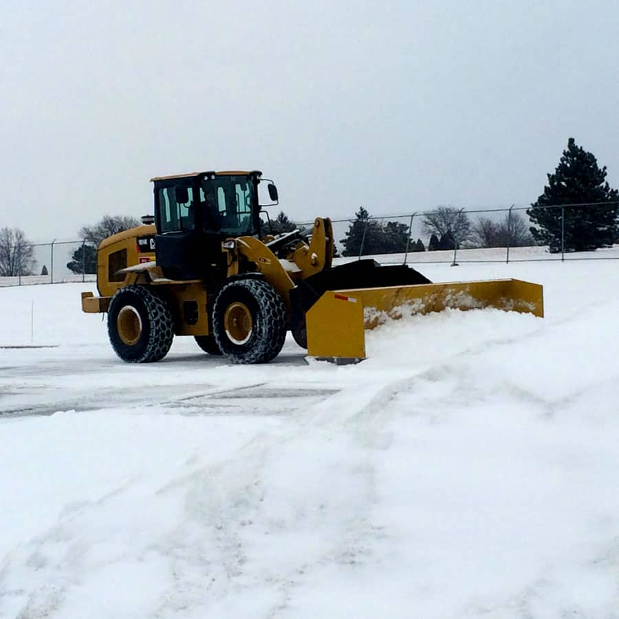 CAT 950 for snow removal