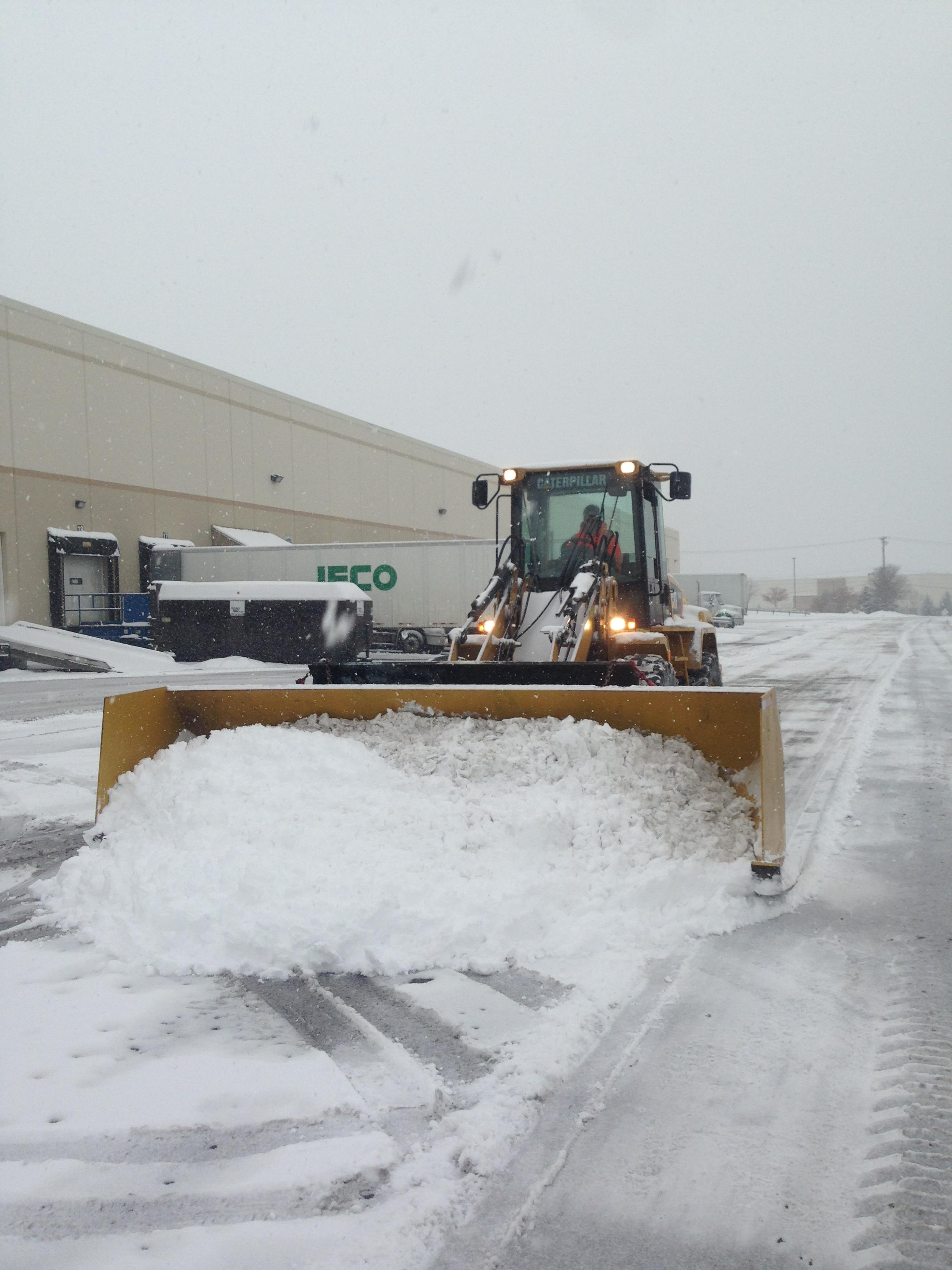 Large snow removal equipment