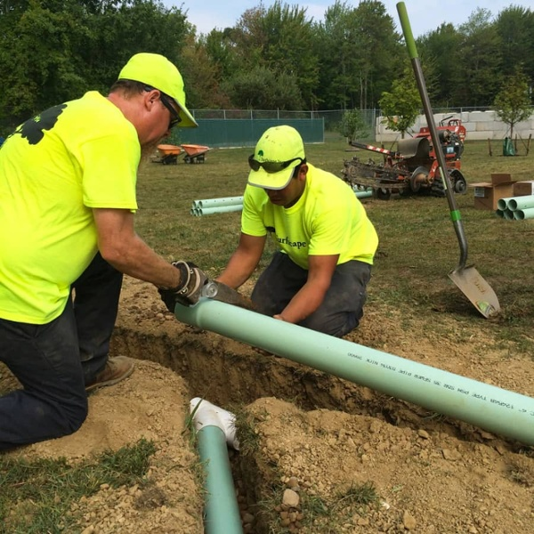 commercial landscaping irrigation