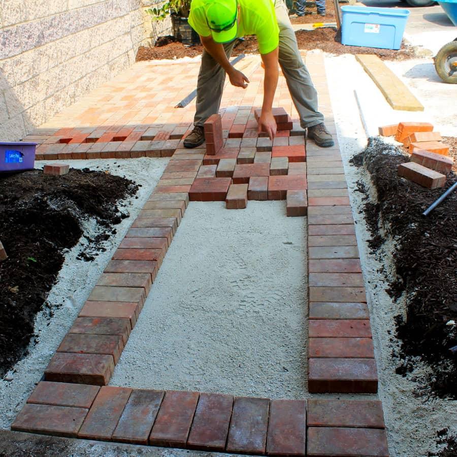 commercial landscaping bricks