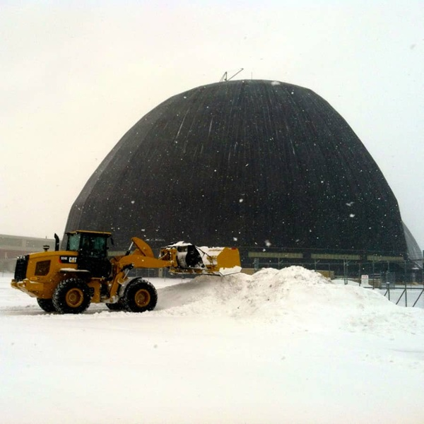 commercial snow dome