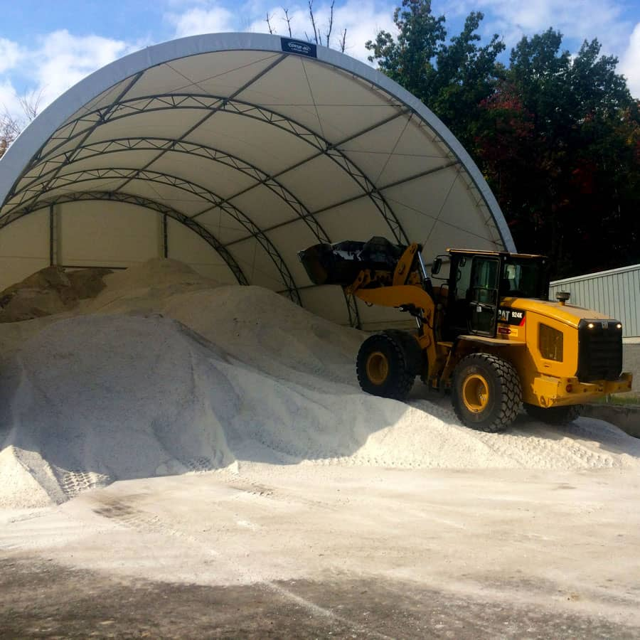 commercial snow removal salt