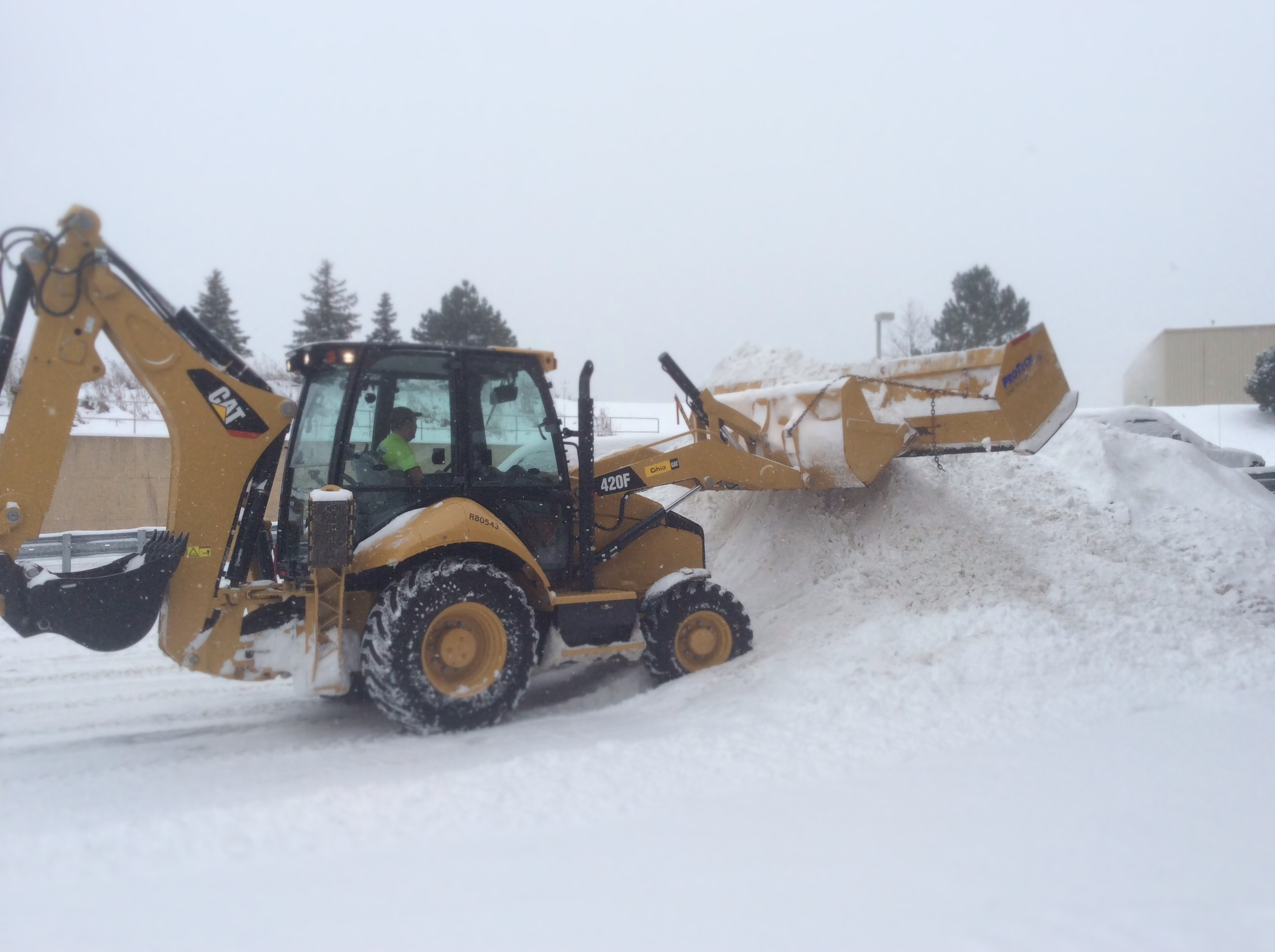 A Great Way to Keep Your Construction Business Busy This Winter: Snow Removal