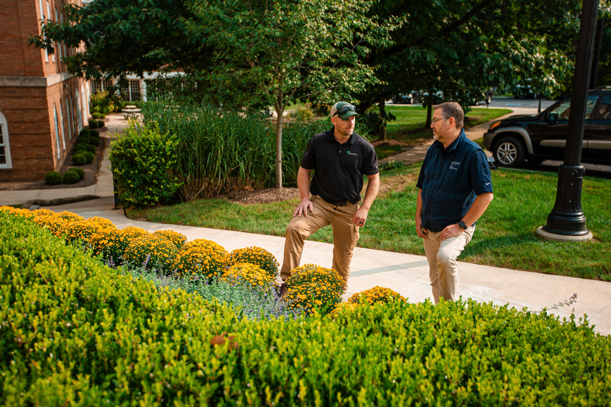 commercial landscaping enhancements Cleveland OH