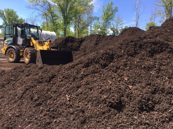 mulch for commercial properties