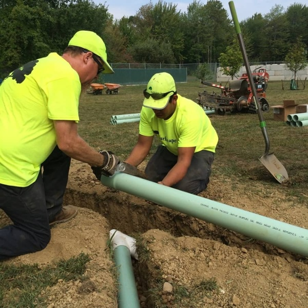 commercial landscaping services - irrigation