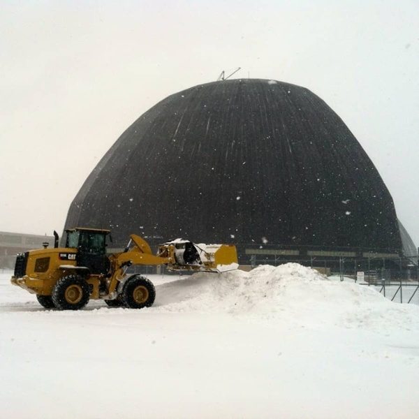 commercial snow removal services - loader